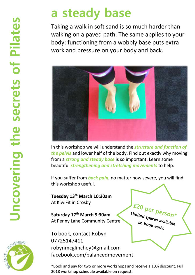 Pilates at Penny Lane